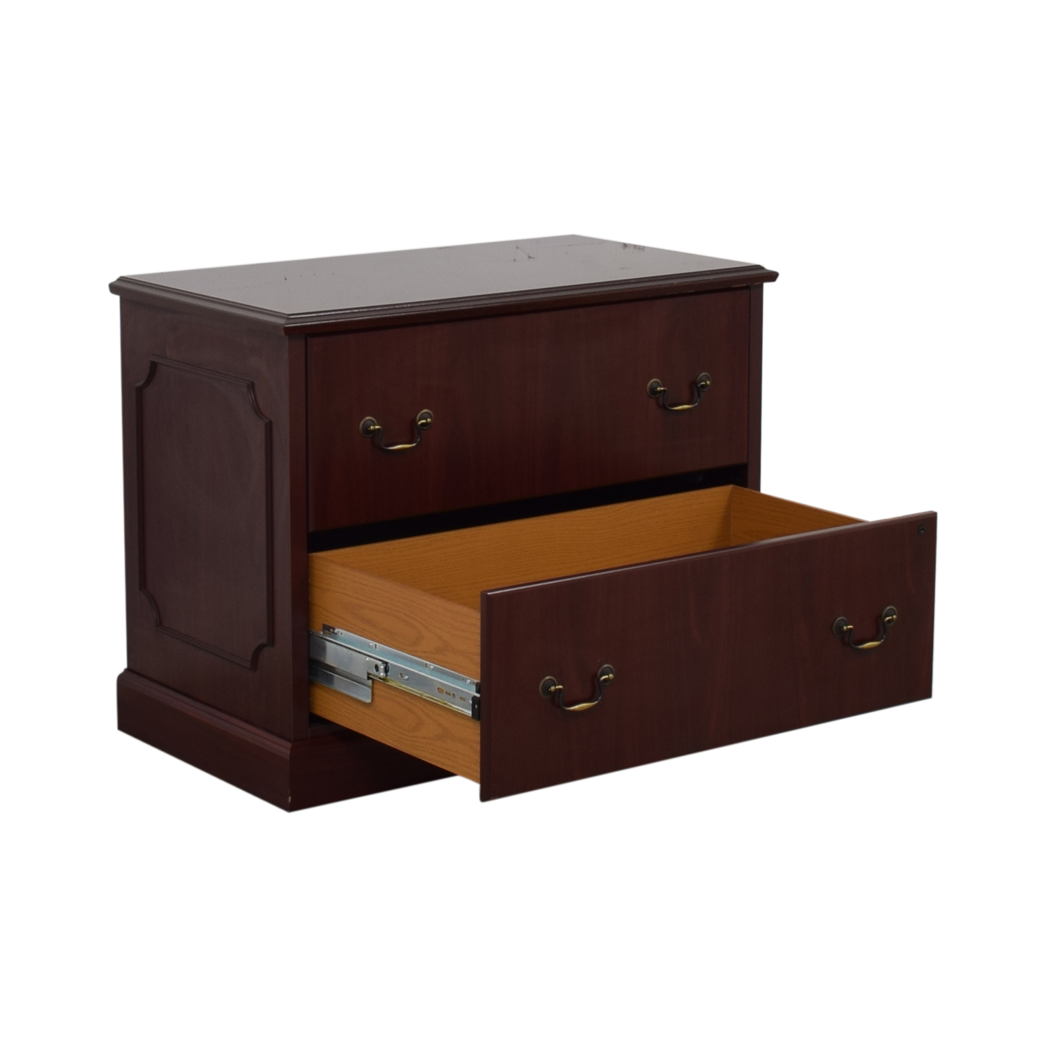 HON HON Two-Drawer File Cabinet nj