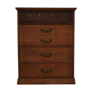 Bassett Furniture Four-Drawer Dresser Bassett Furniture