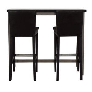 shop IKEA IKEA Henriksdal Counter Height Brown and Chrome Dining Set online