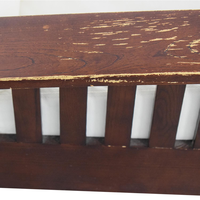 buy  Dark Wood Recliner Chair online