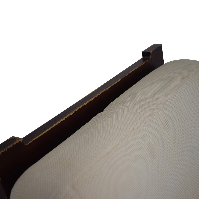 Dark Wood Recliner Chair / Accent Chairs