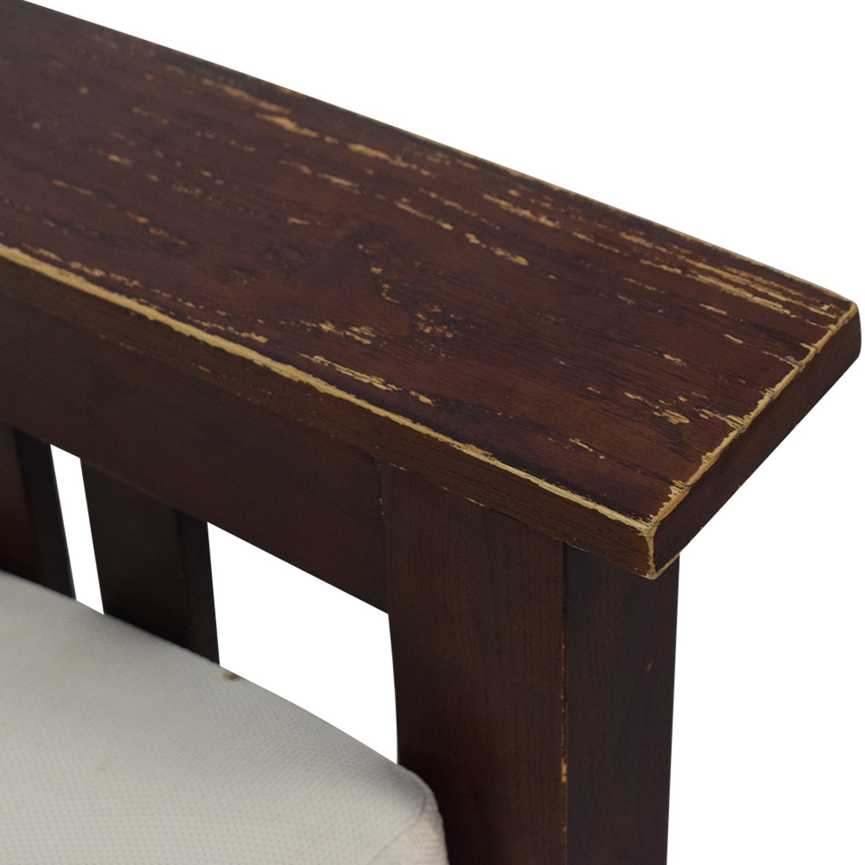 Dark Wood Recliner Chair price