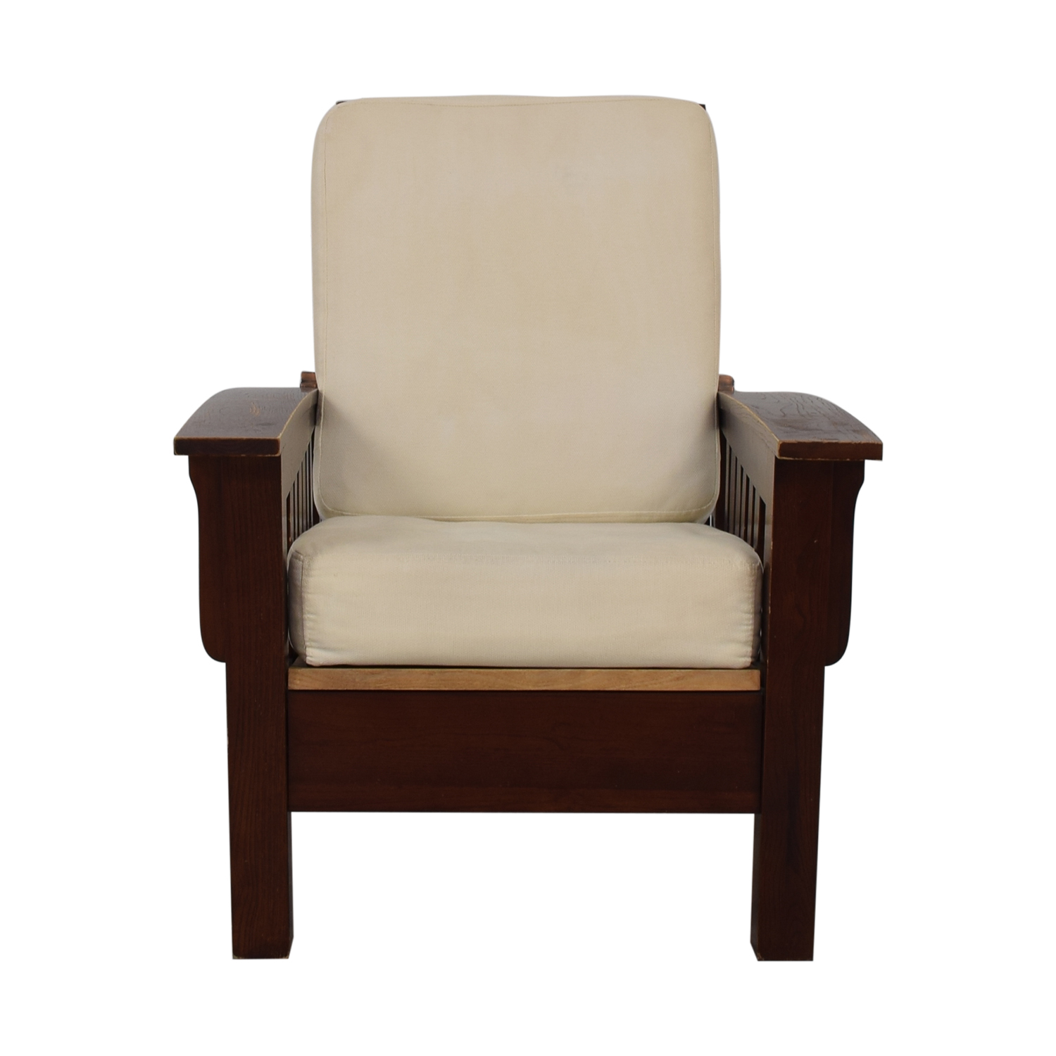 shop Dark Wood Recliner Chair  Accent Chairs
