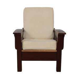 buy Dark Wood Recliner Chair