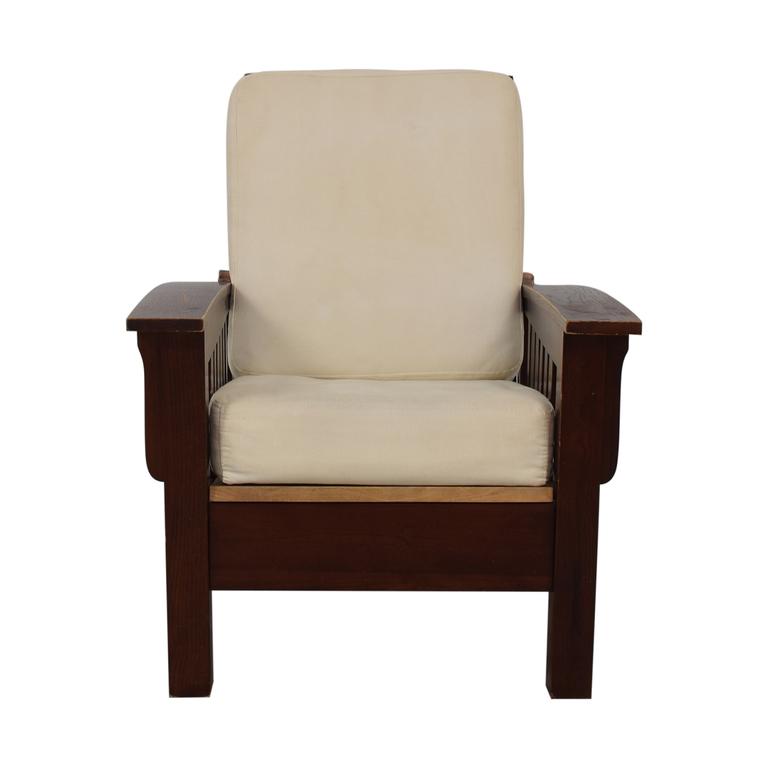 Dark Wood Recliner Chair discount