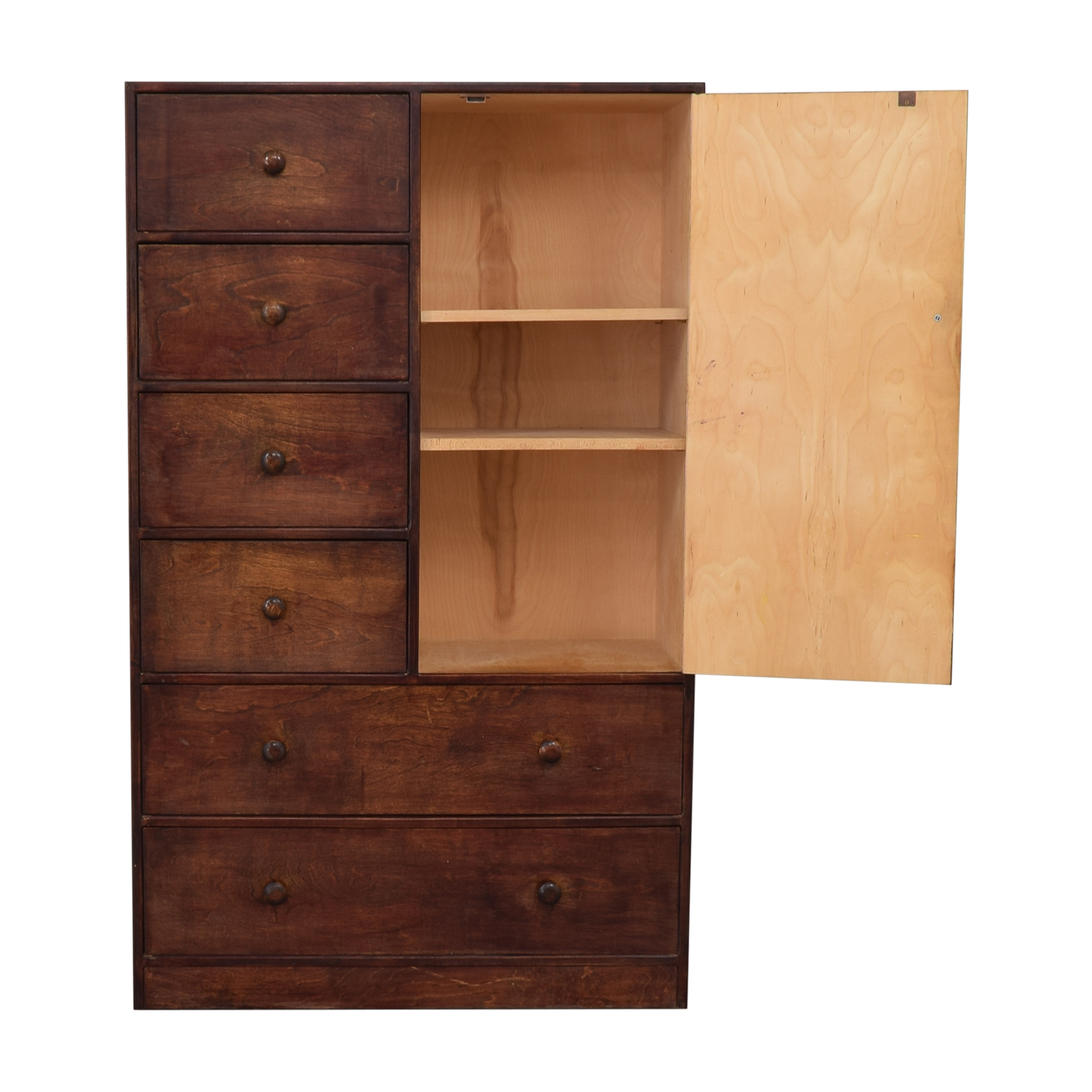 Six-Drawer and Shelving Clothing Armoire or Tall Dresser coupon
