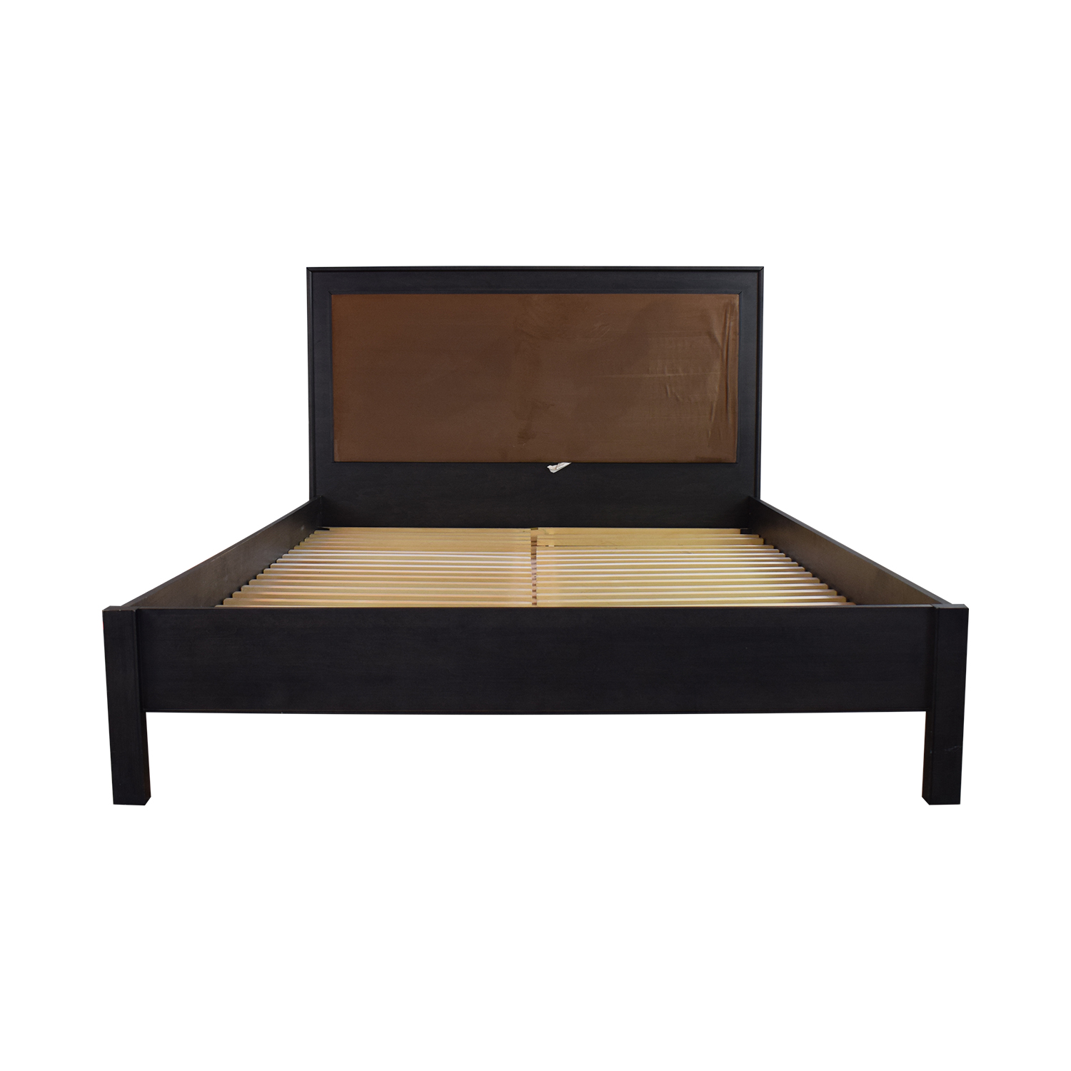 Baronet Baronet Brown Queen Bed Brown, Black