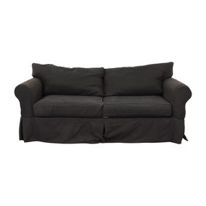 Jennifer Furniture Jennifer Furniture Grey Two-Cushion Sofa