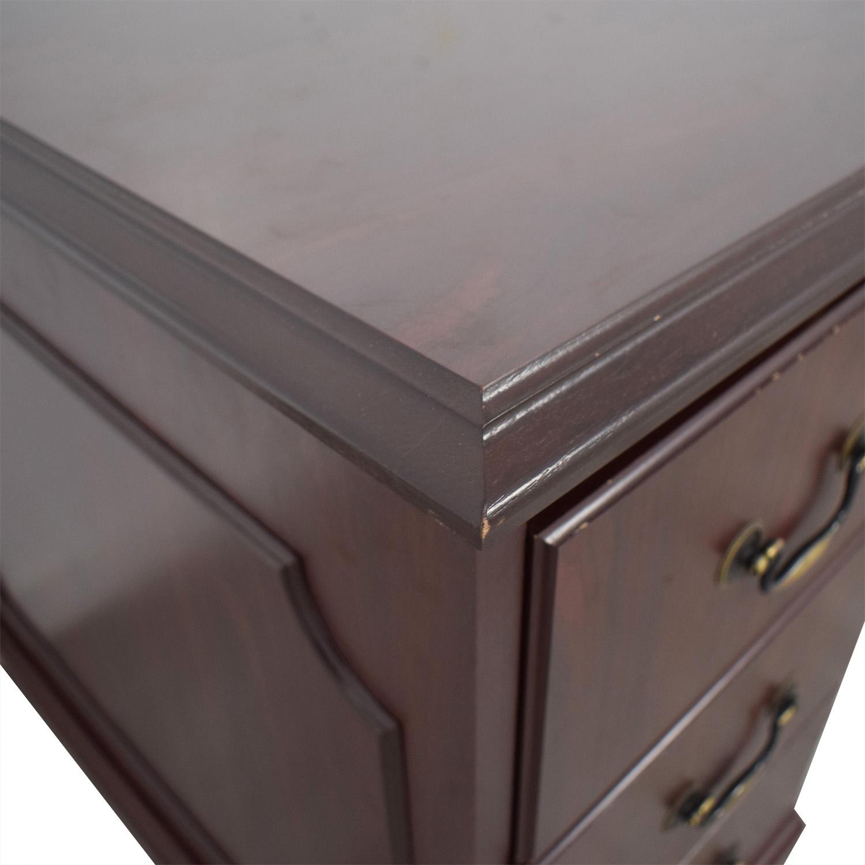 HON Wood Five-Drawer Desk / Home Office Desks