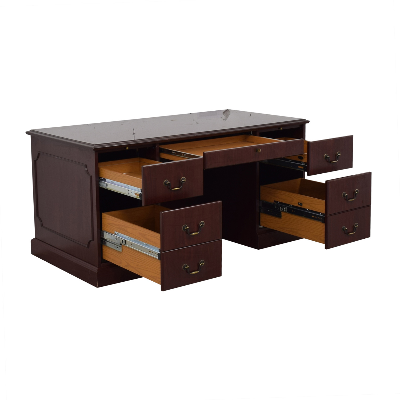 buy HON HON Wood Five-Drawer Desk online