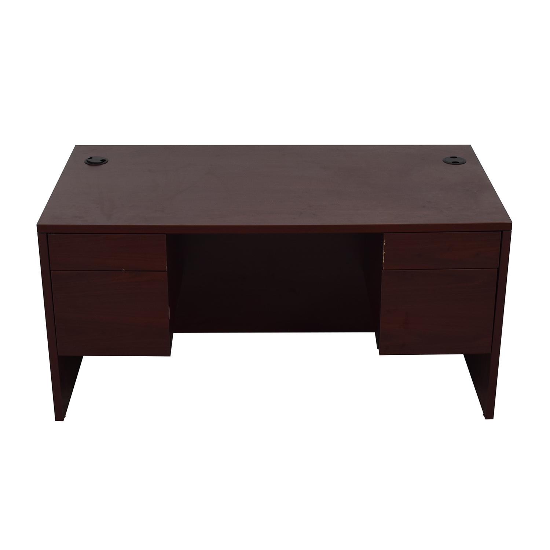 buy Hon Four-Drawer Desk Hon