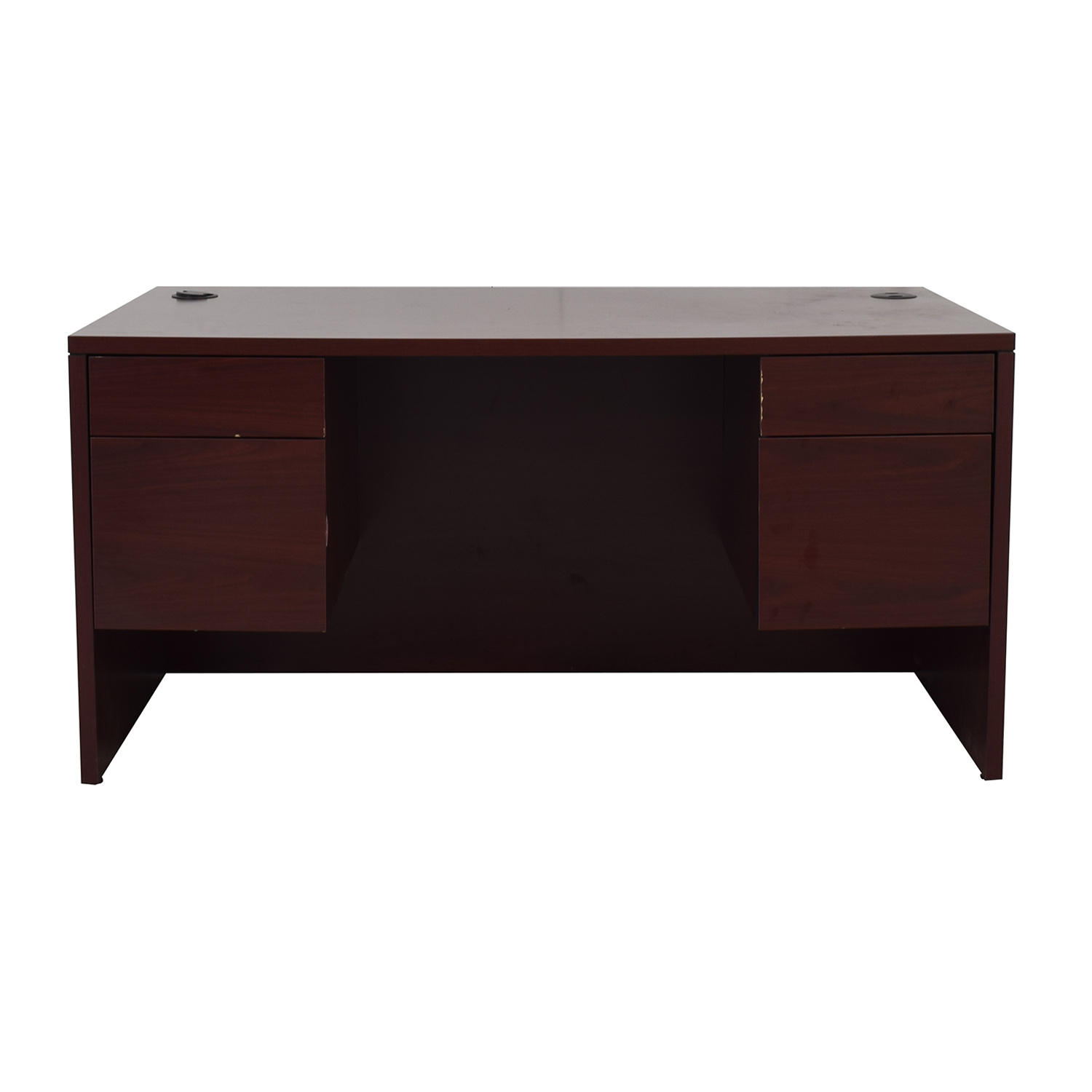 shop Hon Four-Drawer Desk Hon