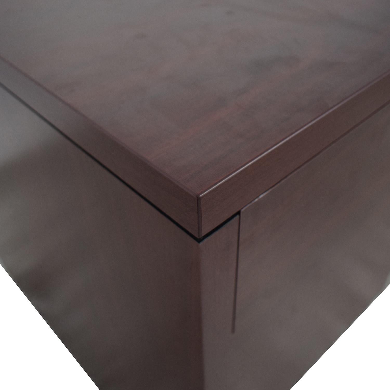 shop Hon Four-Drawer Desk Hon Tables
