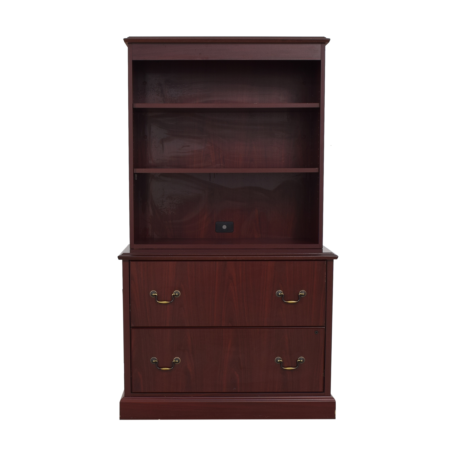 shop HON Furniture Filing Cabinet with Book Shelf HON Furniture