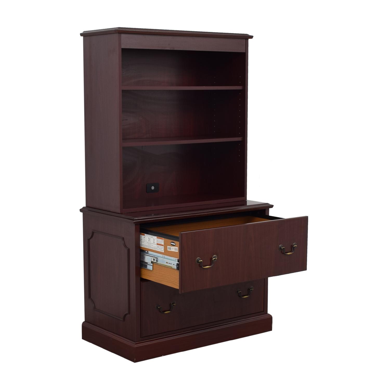 HON Furniture HON Furniture Filing Cabinet with Book Shelf for sale