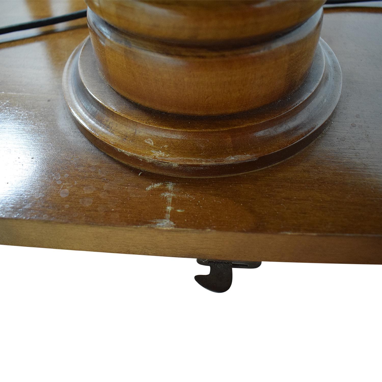 Ethan Allen Ethan Allen Extendable Wood Pedestal Dining Set discount
