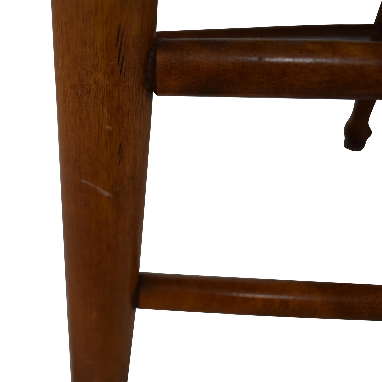Ethan Allen Ethan Allen Extendable Wood Pedestal Dining Set