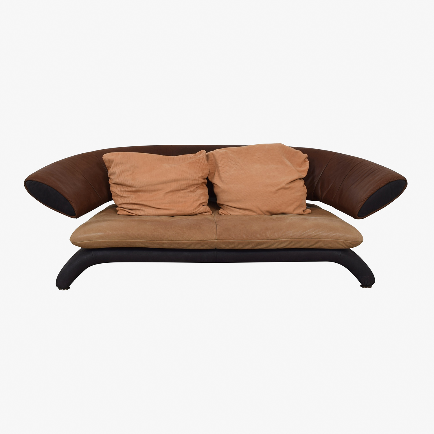Koinor Shades of Brown Modern Couch sale