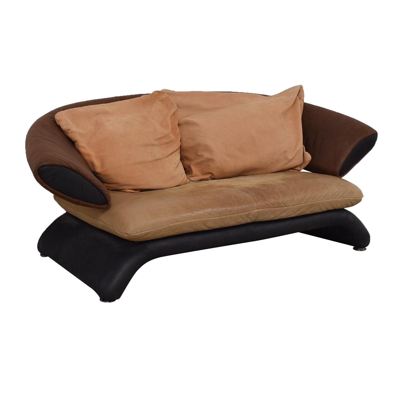buy Koinor Brown Multi-Colored Love Seat Koinor