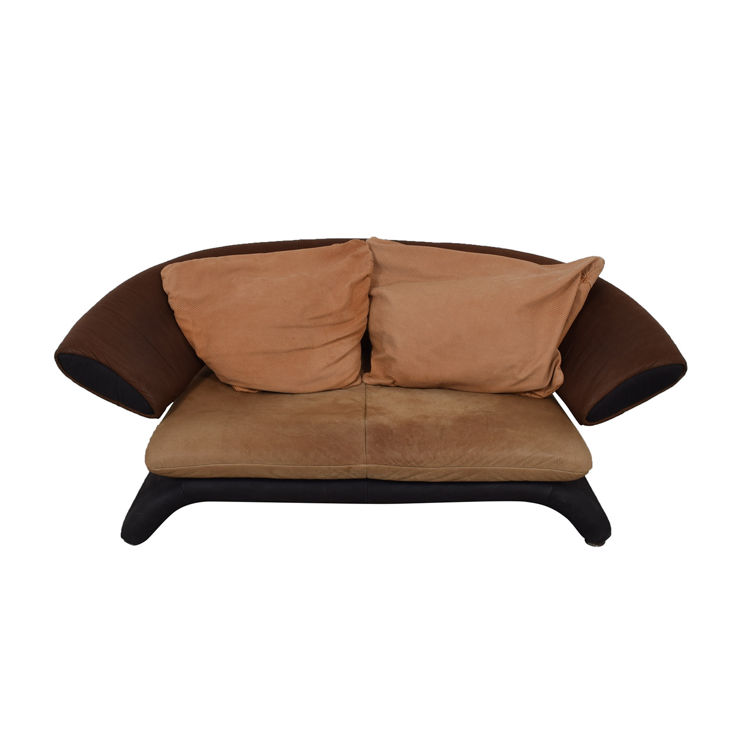Koinor Koinor Brown Multi-Colored Love Seat on sale