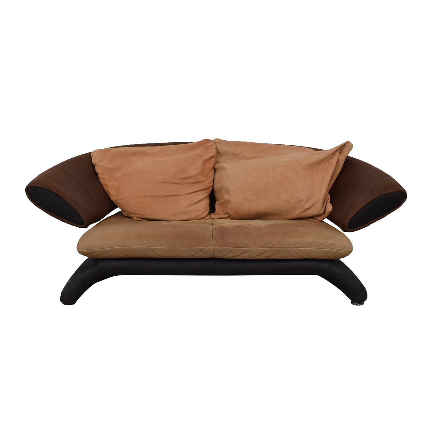 Koinor Koinor Brown Multi-Colored Love Seat discount