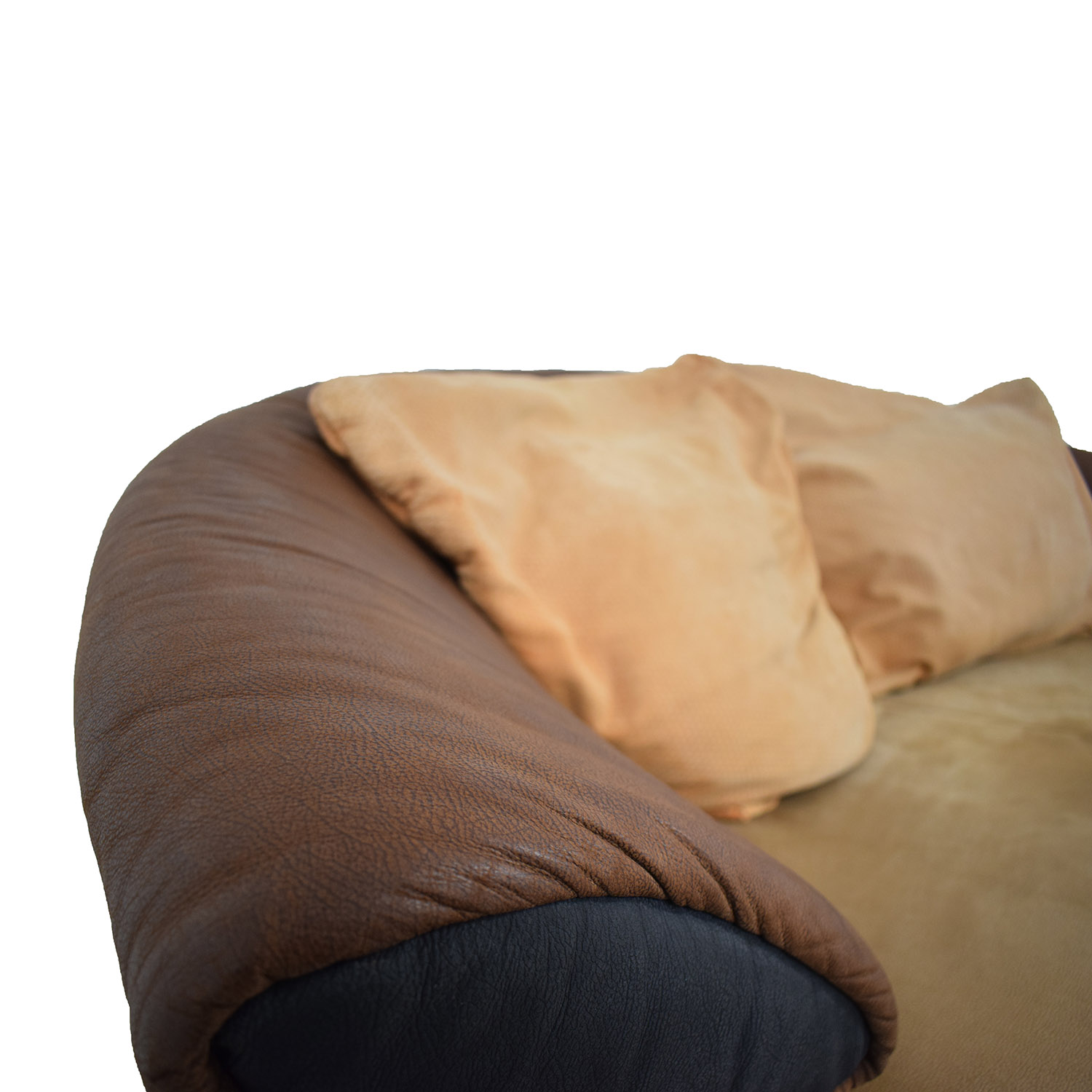 Koinor Koinor Brown Multi-Colored Love Seat brown AND BEIGE