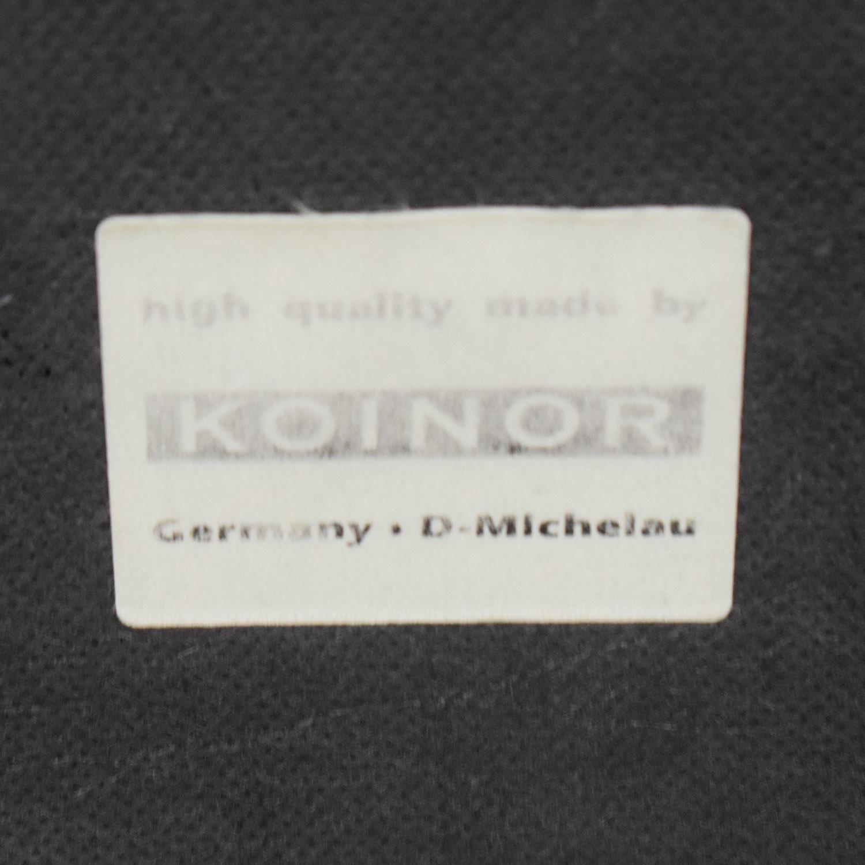 shop Koinor Brown Multi-Colored Love Seat Koinor Loveseats