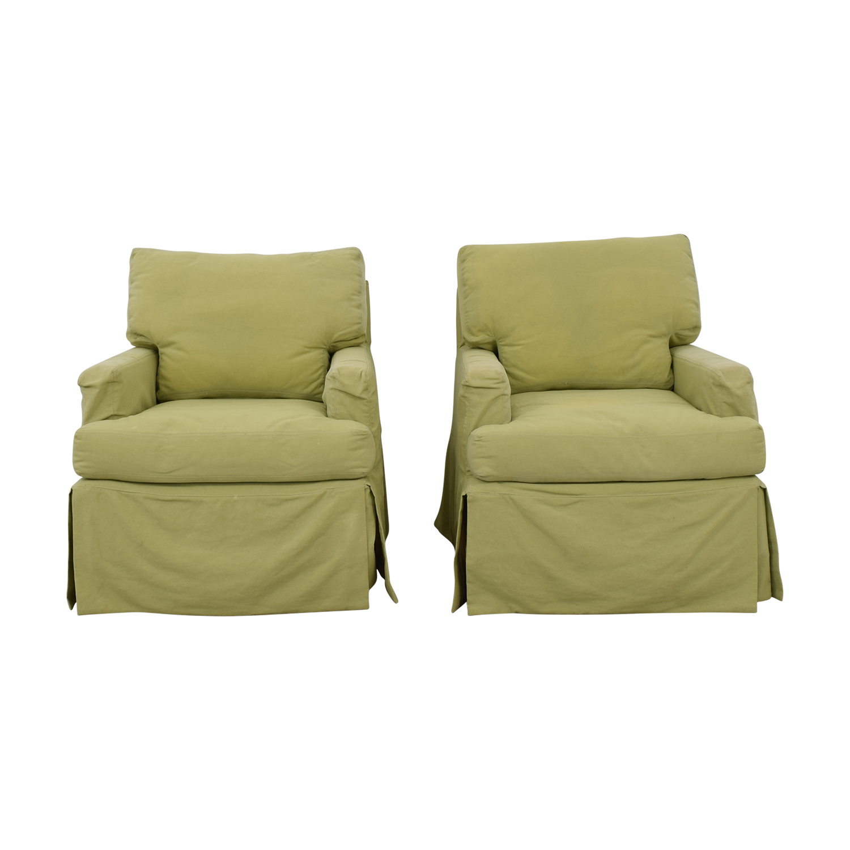 buy Crate & Barrel Crate & Barrel Green Rocker Accent Chairs online