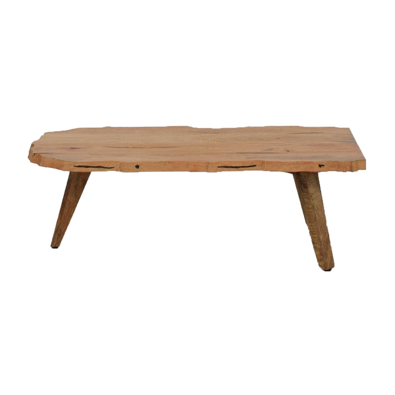 West Elm West Elm Live Wood Edge Coffee Table used