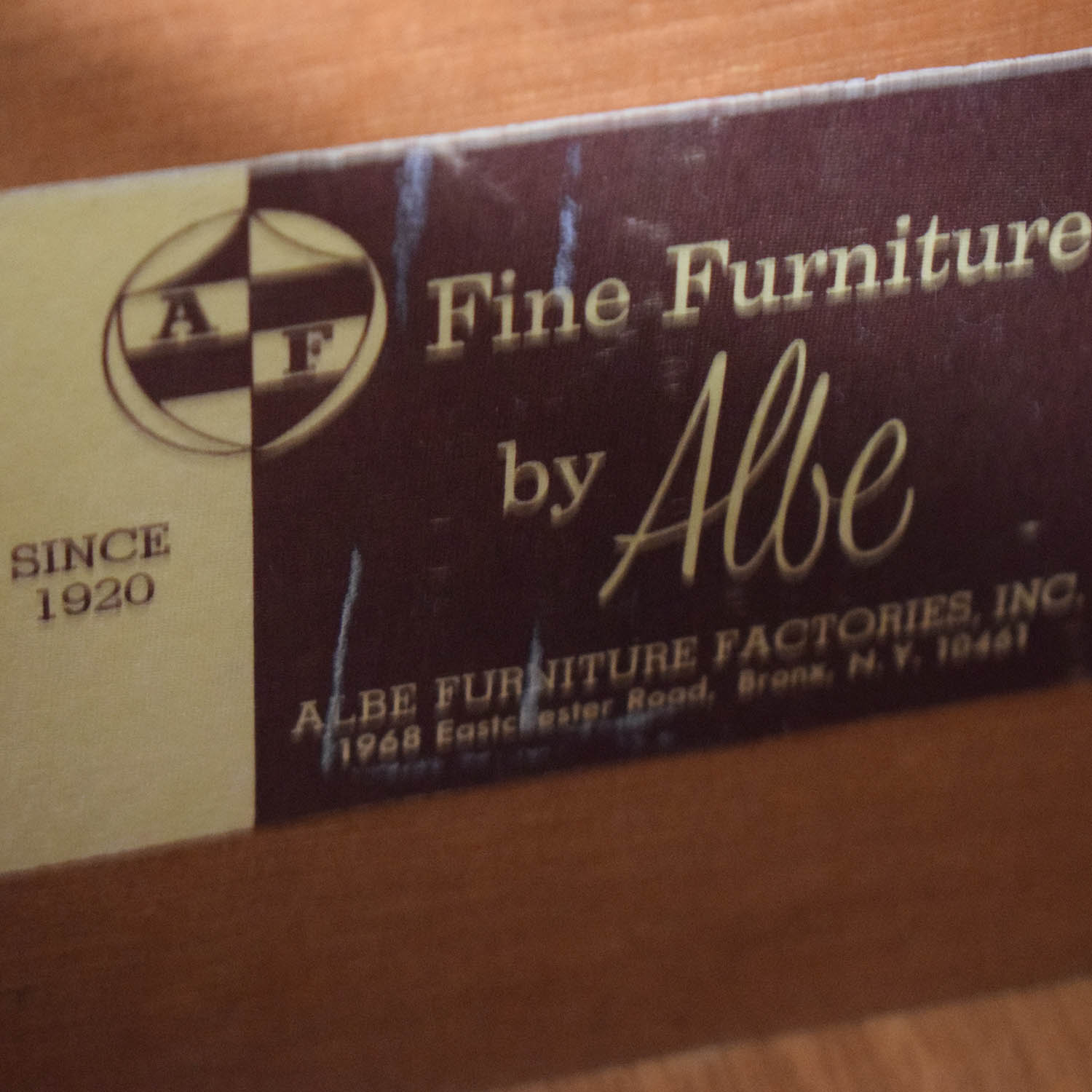 Albe Furniture Albe Furniture Five-Drawer Cothing Armoire nyc