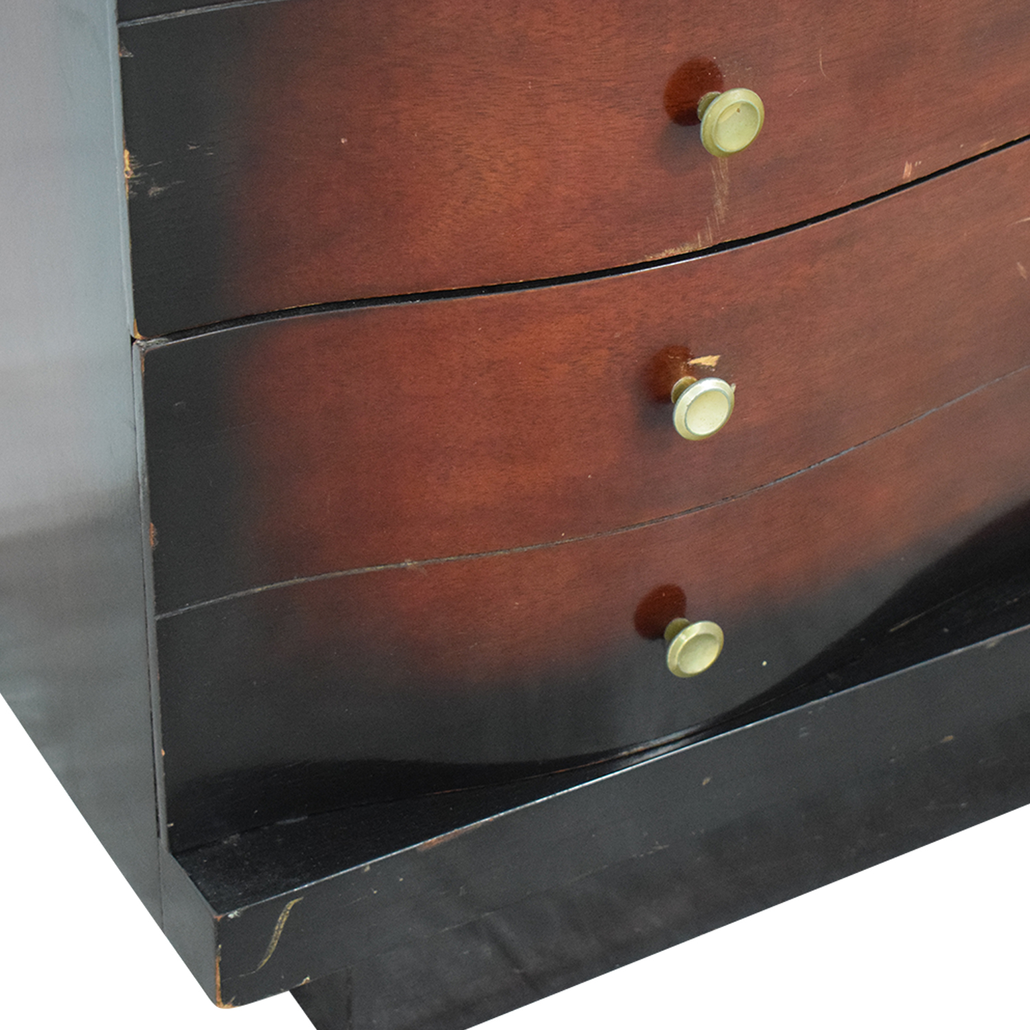 Wood Five-Drawer Tall Dresser dimensions