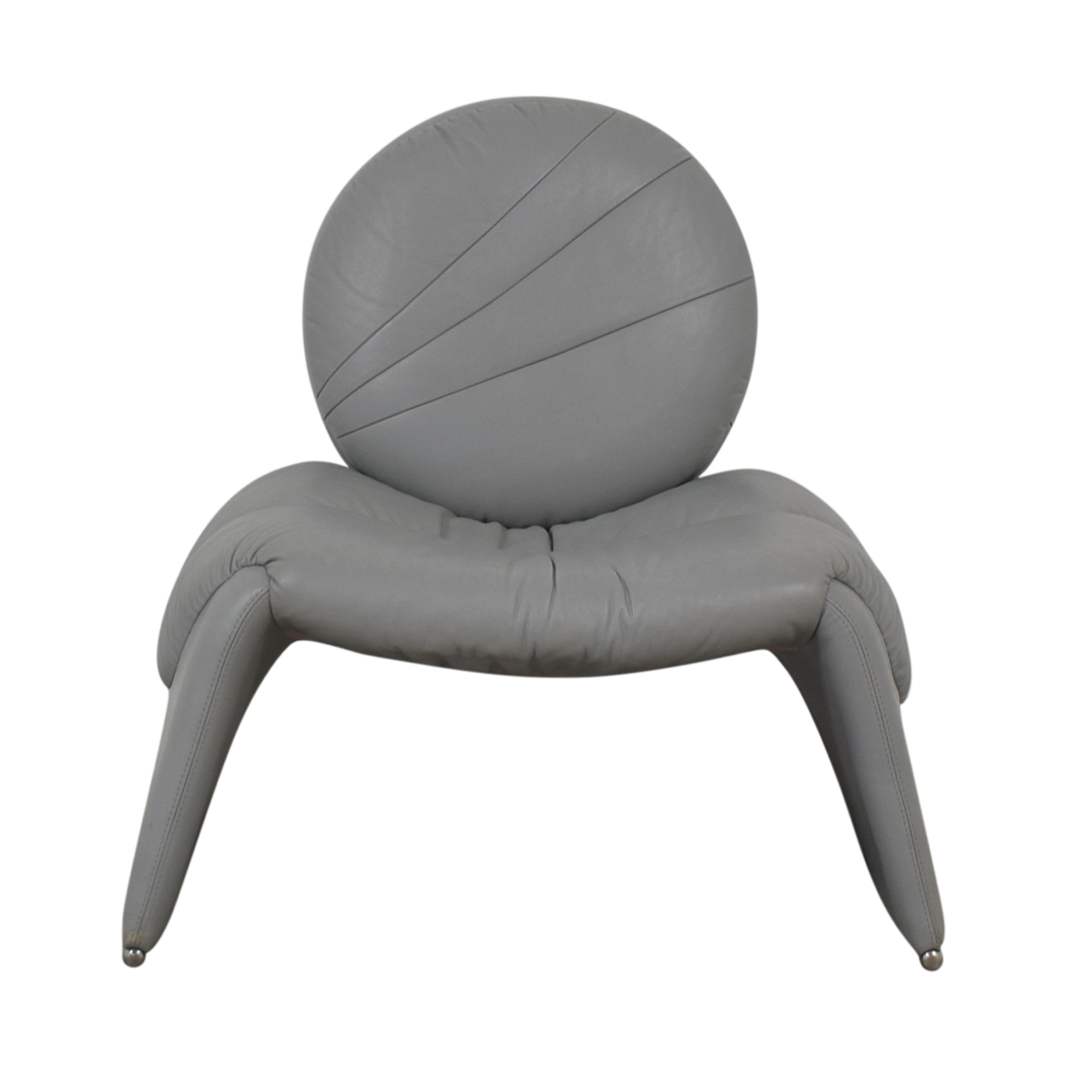 House of Grossman Gray Accent Chair / Accent Chairs