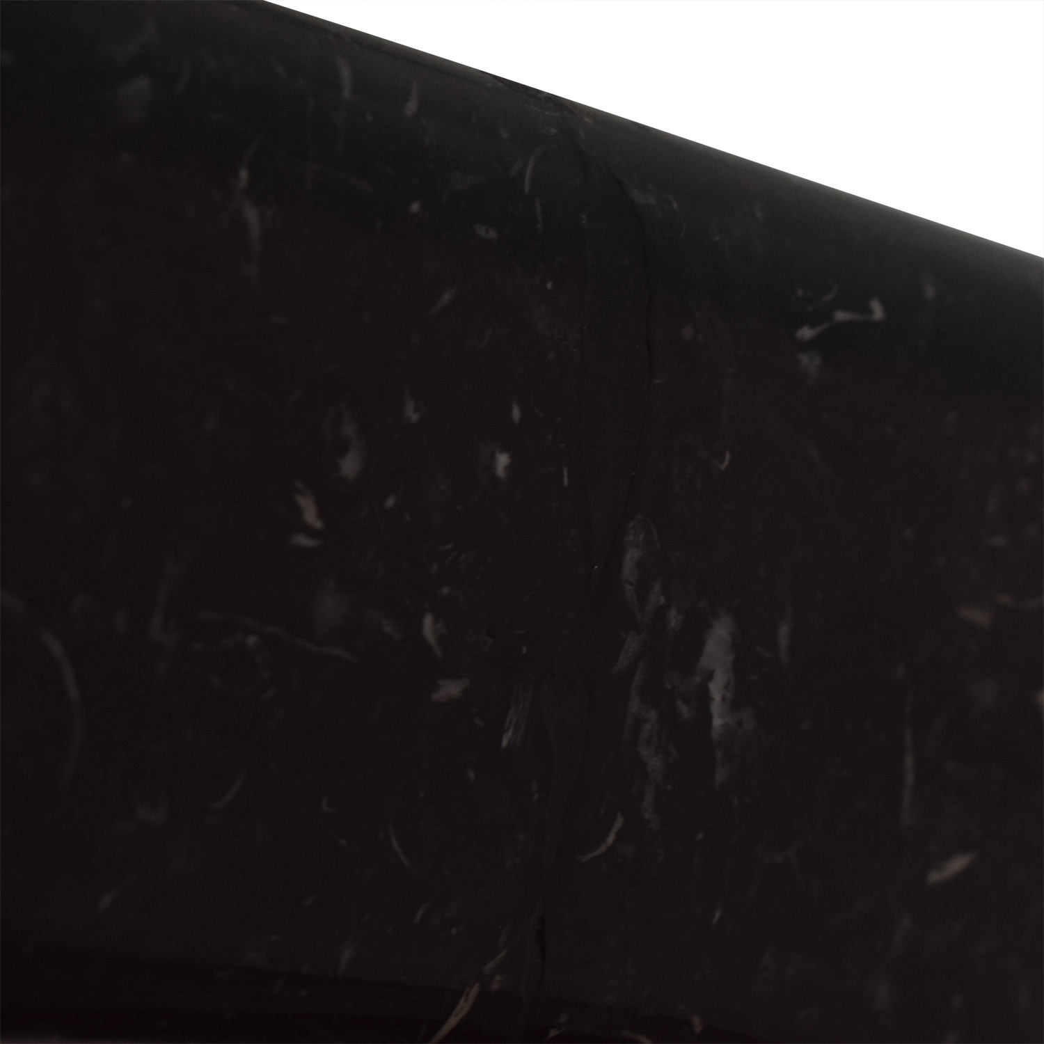 Maurice Villency Maurice Villency Noguchi Style Glass with Black Marble Coffee Table for sale