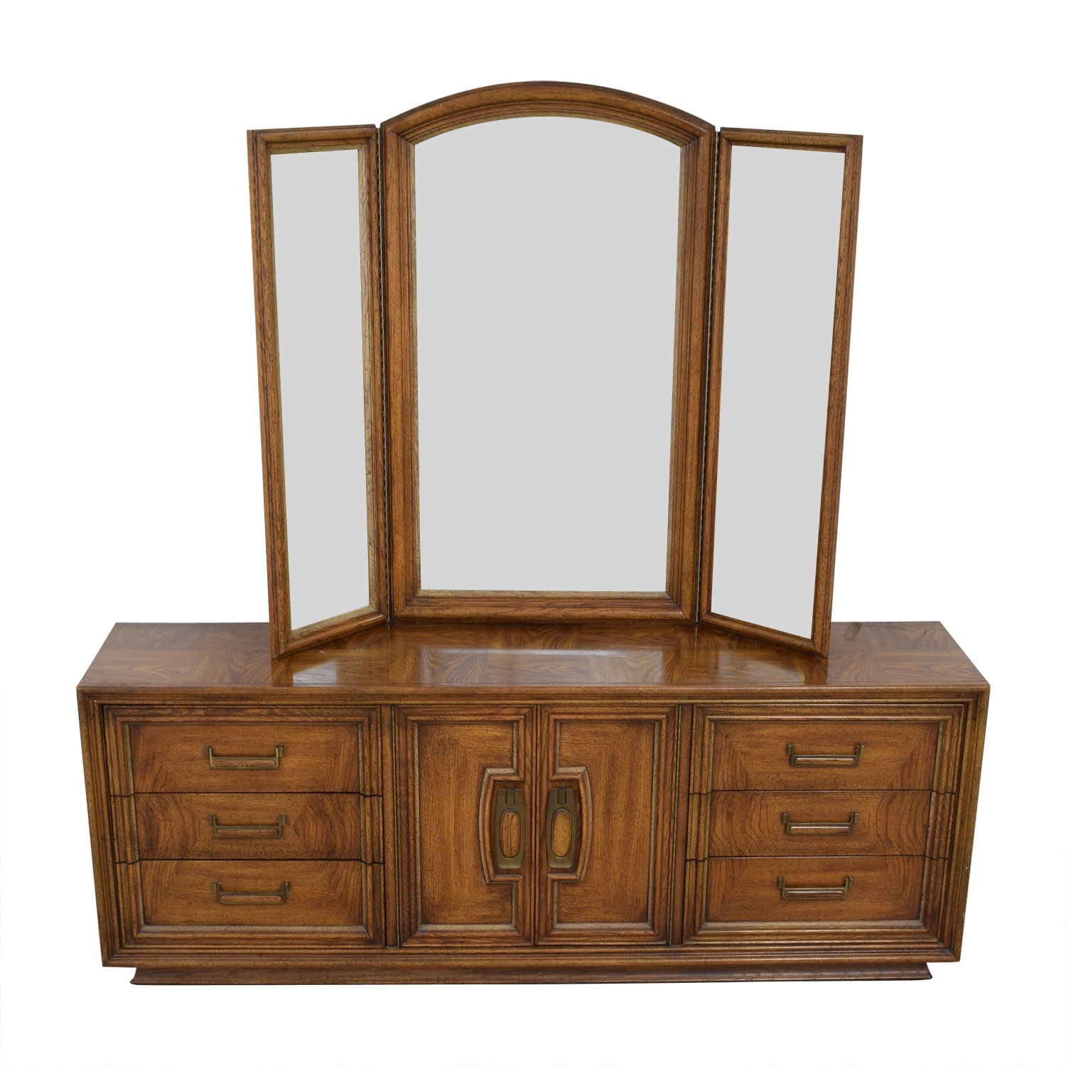 Vintage Dresser with Vanity Mirror price