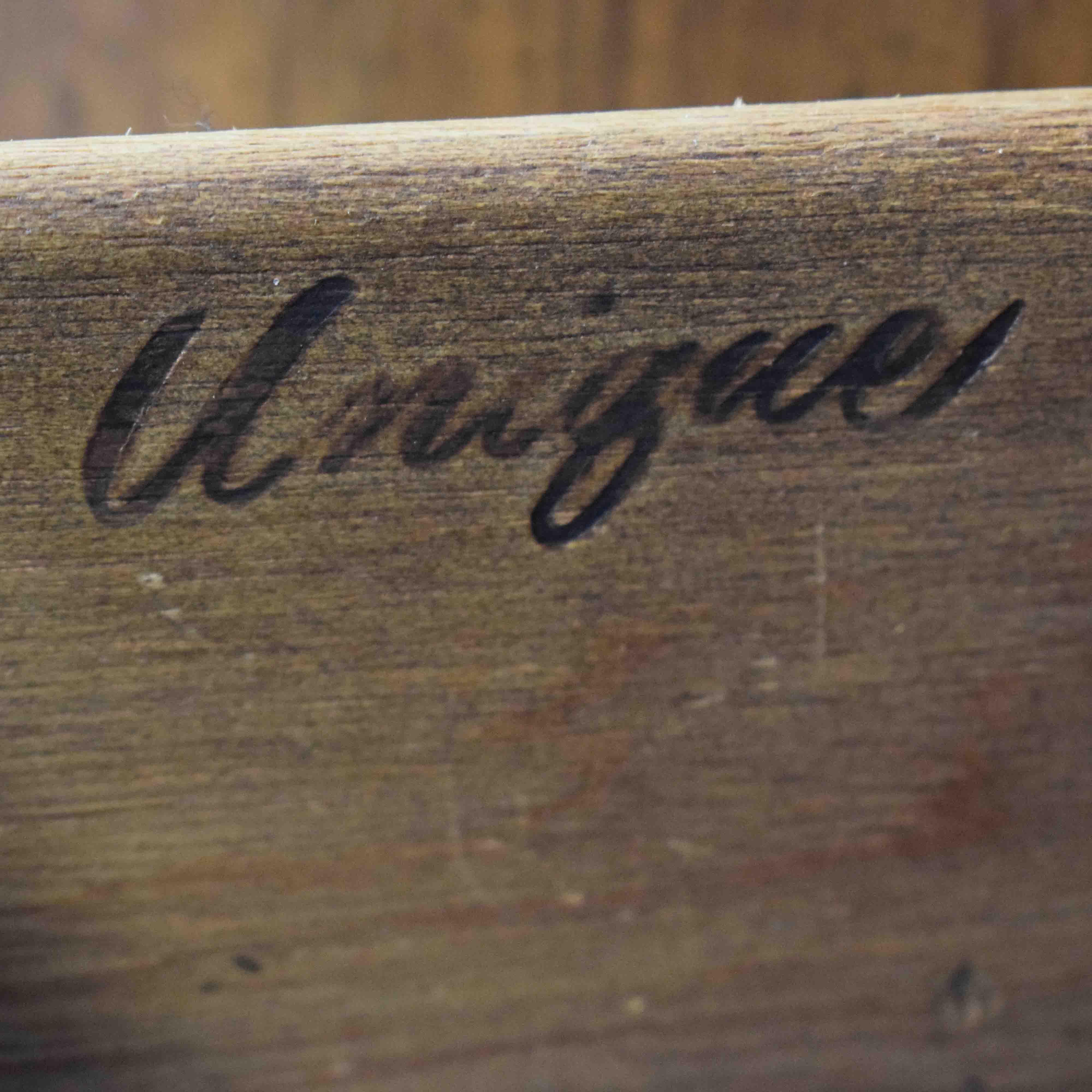 Unique Furniture Unique Furniture Wood Four-Drawer Armoire Storage