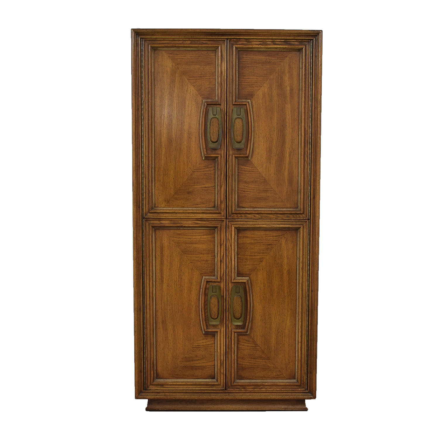 Unique Furniture Wood Four-Drawer Armoire sale