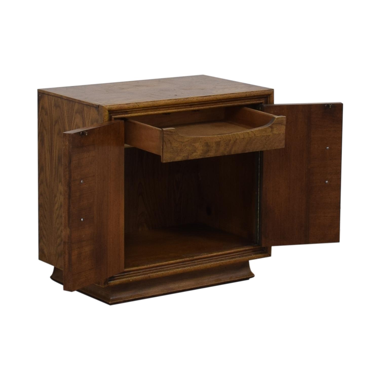 Single Drawer Wood Night Table coupon