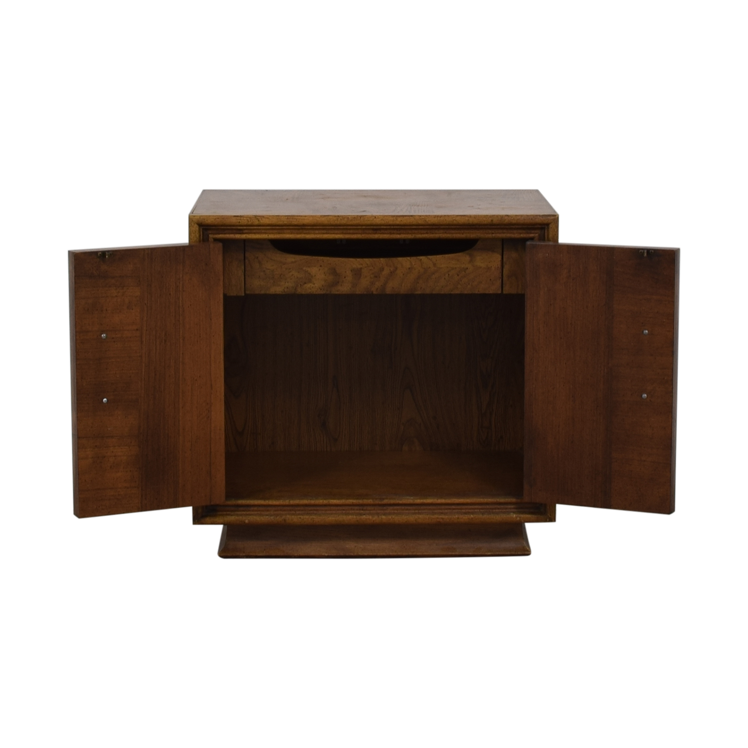 Single Drawer Wood Night Table / Tables