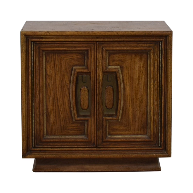 Single Drawer Wood Night Table
