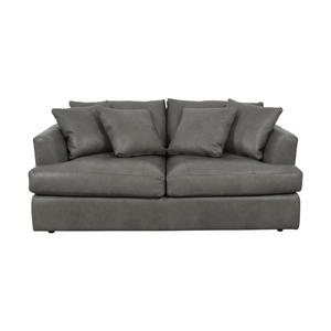 Arhaus Arhaus Emory Deep Leather Sofa second hand
