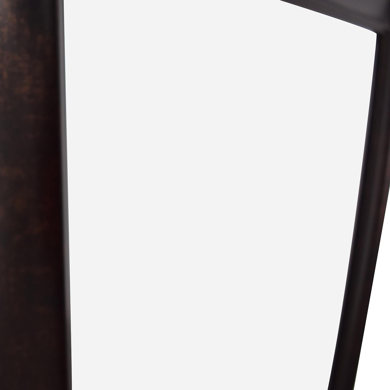 Sandberg Furniture Sandberg Furniture Oil Rubbed Bronze Leaner Floor Mirror for sale