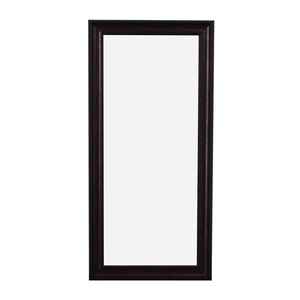 Sandberg Furniture Sandberg Furniture Oil Rubbed Bronze Leaner Floor Mirror second hand