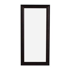 Sandberg Furniture Sandberg Furniture Oil Rubbed Bronze Leaner Floor Mirror price