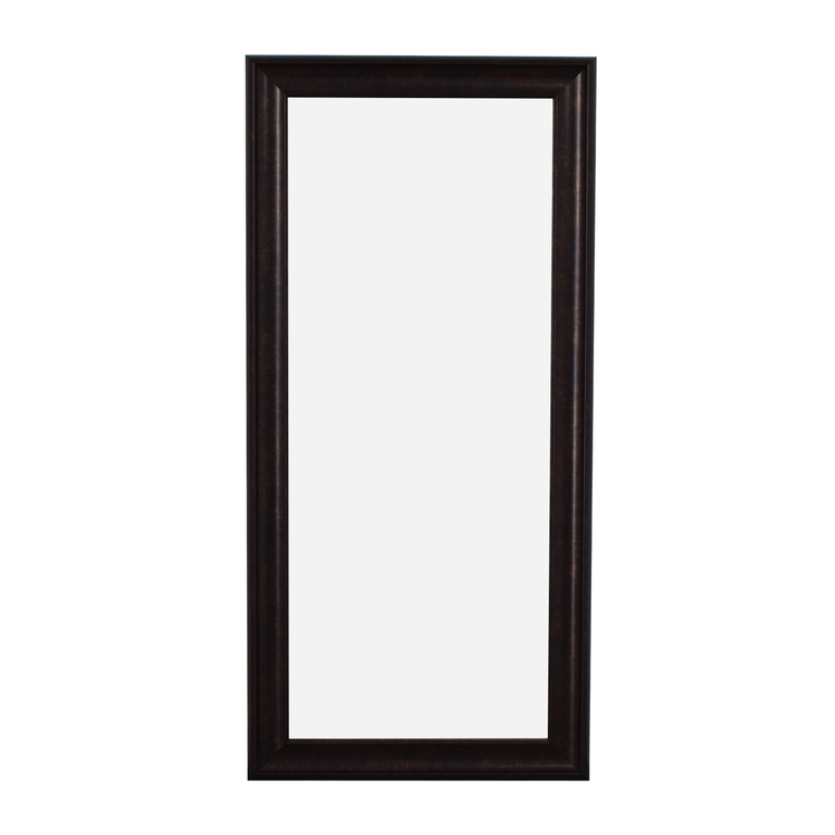 Sandberg Furniture Sandberg Furniture Oil Rubbed Bronze Leaner Floor Mirror for sale