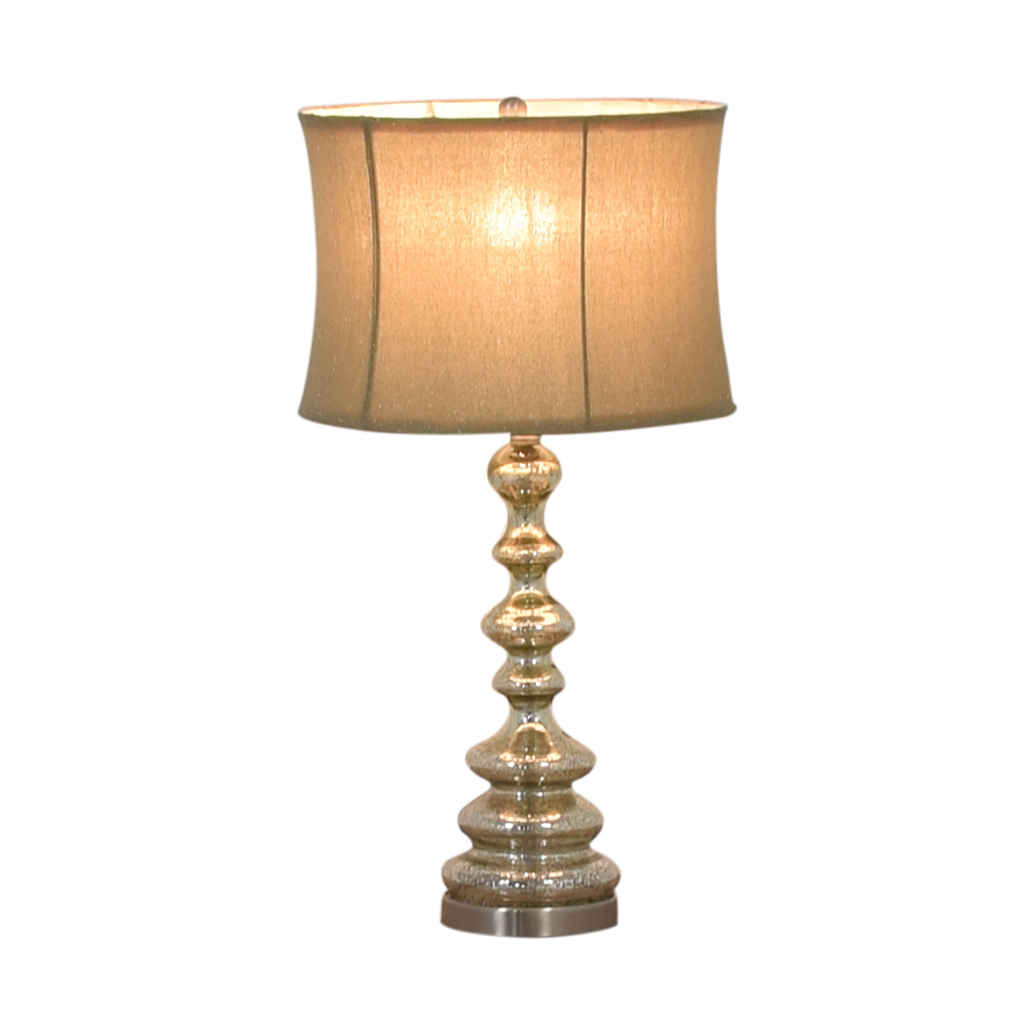 Chrome Table Lamp second hand