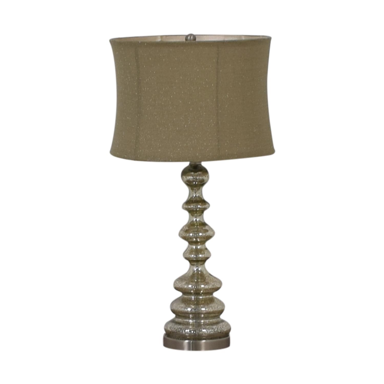 Chrome Table Lamp / Decor