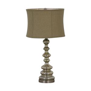 shop Chrome Table Lamp  Decor