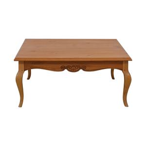 Lane Furniture Lane Furniture Wood Square Coffee Table used