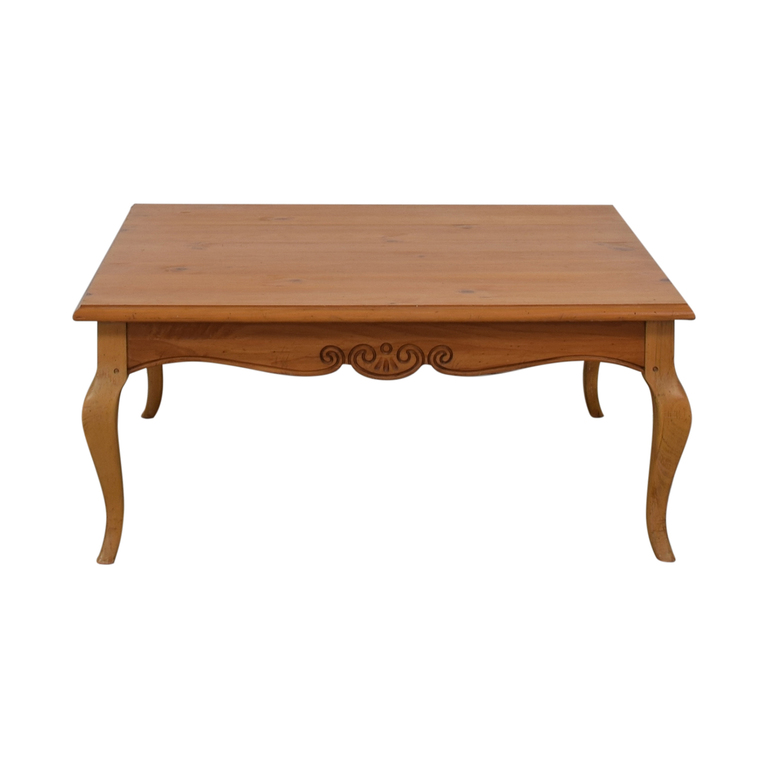 Lane Furniture Lane Furniture Wood Square Coffee Table for sale