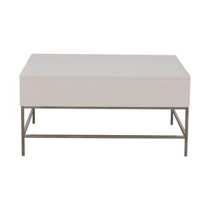 West Elm West Elm Lacquer Storage Pop-Up Coffee Table Tables